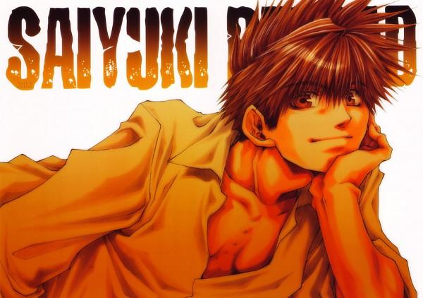 Tags: Anime, Saiyuki, Son Goku (Saiyuki)