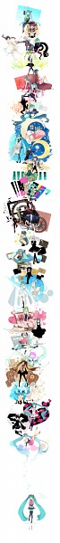 Tags: Anime, Ousaka Nozomi, Project DIVA F 2nd, Project DIVA F, VOCALOID, Hatsune Miku, Nenchakukei Danshi no 15-nen Nechinechi, Pixiv, Project DIVA Supreme, Nisoku Hokou, Catfood (VOCALOID), Cruel Clocks, LOL -lots of laugh-