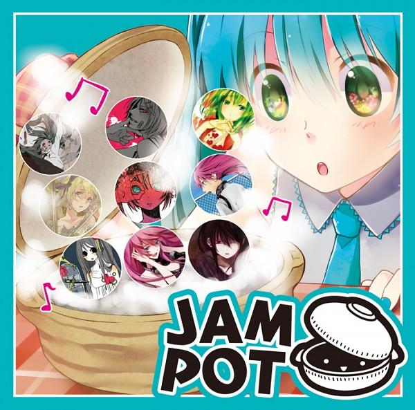 Tags: Anime, Mina M, VOCALOID, Hatsune Miku, GUMI, Megurine Luka, Kagamine Rin, Sukiyaki, Song-Over, Pixiv, Eat Me, Fanart