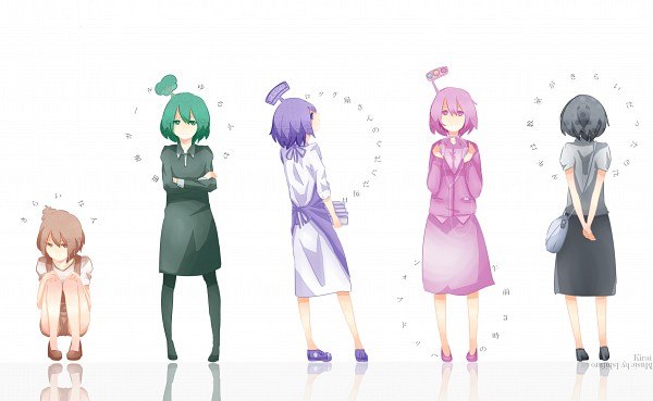 Tags: Anime, Pixiv Id 1354283, VOCALOID, Fan Character, Tree On Head, Creator Connection, Object On Head, Wallpaper, Gozen 3-ji no Headphone, Kirai na Hito, Shounen wa Kyoushitsu ga Kirai datta no da, Yurufuwa Jukai Girl, Song-Over