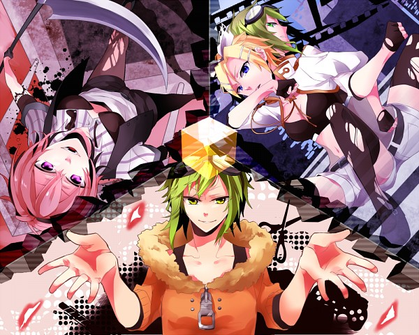 Tags: Anime, SHuginoki, VOCALOID, GUMI, Kagamine Rin, Fan Character, Creator Connection, Ikasama Life Game, Song-Over, Invisible (Song), Jinsei Reset Button