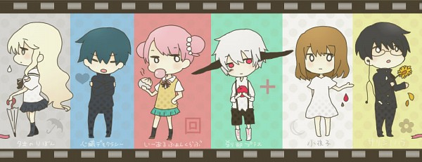 Tags: Anime, 七空 (pixiv Id 2826752), VOCALOID, MAYU (VOCALOID), Fan Character, Mika-chan, Filmstrip, Meat Buns, Pandamimi, Sarishinohara, Facebook Cover, Pixiv, 1-2 Fanclub