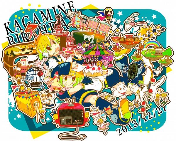 Tags: Anime, 7:24, VOCALOID, Kagamine Rin, Kagamine Len, Karakasa Obake, Song-Over, cLick cRack, Lost One no Goukoku, Kogitsune no Ran, Kashokusei: Idol Shoukougun, Kyun♡Koi, Electric Angel