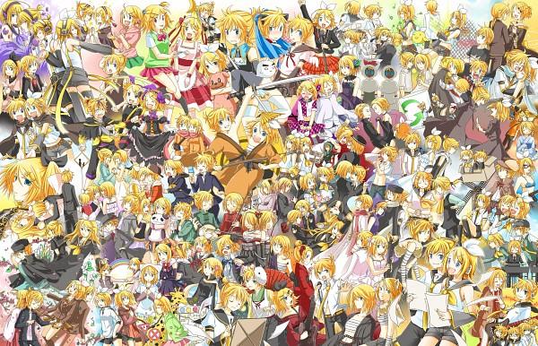 Tags: Anime, Asagi (Seal47), VOCALOID, Kagamine Rin, Kagamine Len, Chivalry, Roshin Yuukai, Magical Boy ☆ Kitty Len Len, Yumezakura, Kagamine Len no Bousou, HAKOBAKO PLAYER, siGrE, Out of Eden