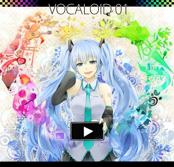 Tags: Anime, Yatile, Kagerou Project, VOCALOID, Hatsune Miku, Rainbow Colors, Romeo and Cinderella, Musunde Hiraite Rasetsu to Mukuro, Love is War, PoPiPo, LOL -lots of laugh-, Song-Over, Melt (Song)