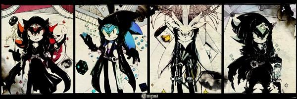 Tags: Anime, Aimf, Sonic '06, Sonic the Hedgehog, Mephiles the Dark, Silver the Hedgehog, Shadow the Hedgehog, Sonic the Hedgehog (Character), Requested Upload, deviantART, Fanart, Fanart From DeviantART