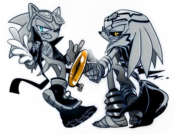 Tags: Anime, Lujji, Sonic the Hedgehog (Archie Comic Series), Sonic the Hedgehog, Dr. Finitevus, Scourge the Hedgehog, deviantART, Fanart From DeviantART, Fanart