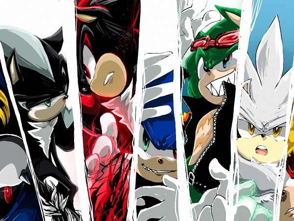 Tags: Anime, Aimf, Sonic the Hedgehog (Archie Comic Series), Sonic the Hedgehog, Shadow the Hedgehog, Metal Sonic, Sonic the Hedgehog (Character), Super Sonic, Mephiles the Dark, Scourge the Hedgehog, Silver the Hedgehog, Dark Sonic, Machine