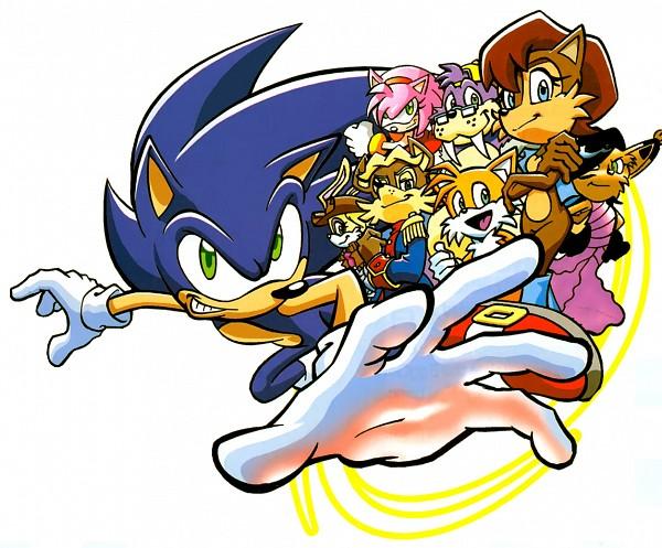 Sonic the Hedgehog (Archie Comic Series) - Sonic the Hedgehog