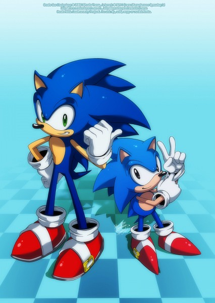 Sonic the Hedgehog (Character) - Sonic the Hedgehog