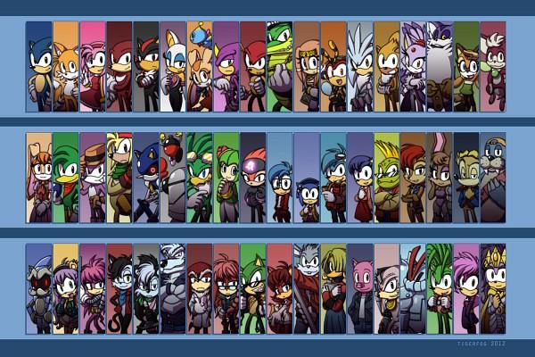 Tags: Anime, Tigerfog, Sonic X, Sonic Underground, Sonic Chronicles, Sonic Riders, Sonic the Hedgehog, Rouge the Bat, Brenda the Hedgehog, Espio the Chameleon, Drago Wolf, Sonia the Hedgehog, Shadow the Hedgehog