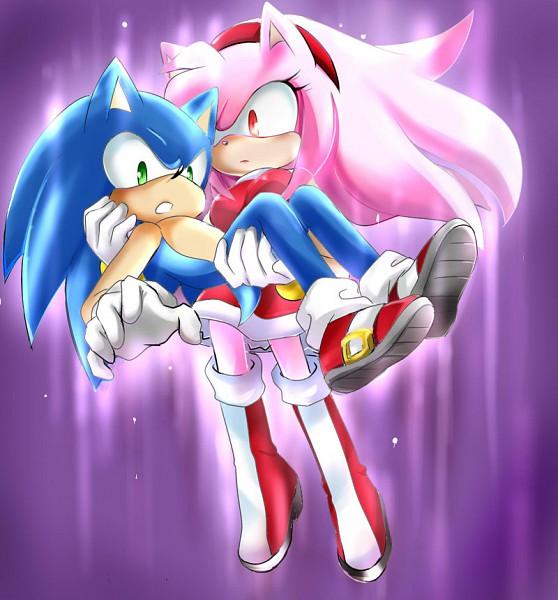 Tags: Anime, Garugirosonicshadow, Sonic the Hedgehog, Amy Rose, Sonic the Hedgehog (Character), Fanart, deviantART, Fanart From DeviantART