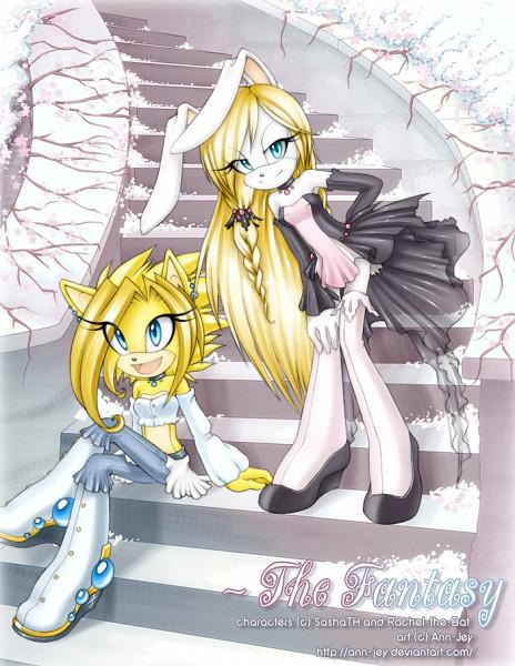 Tags: Anime, Ann-Jey, Sonic the Hedgehog, Fan Character, Rose (Character), Fanart From DeviantART, Fanart, deviantART