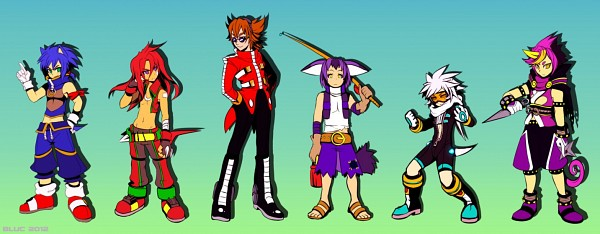 Tags: Anime, BluC, Sonic the Hedgehog, Big the Cat, Knuckles the Echidna, Doctor Eggman, Silver the Hedgehog, Espio the Chameleon, Sonic the Hedgehog (Character), deviantART, Fanart From DeviantART, Fanart