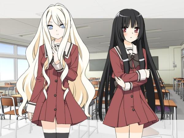 Tags: Anime, Peko, Fuguriya, Sono Hanabira ni Kuchizuke o: Tenshi no Hanabira Zome, Shitogi Elis, Kirishima Shizuku
