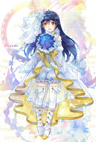 Tags: Anime, Ekita_Kuro, Love Live!, Sonoda Umi, Mobile Wallpaper, Umi Sonoda