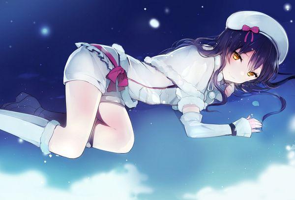Tags: Anime, Lpip, Love Live!, Sonoda Umi, Snow Halation, Pixiv, Fanart From Pixiv, Fanart, PNG Conversion