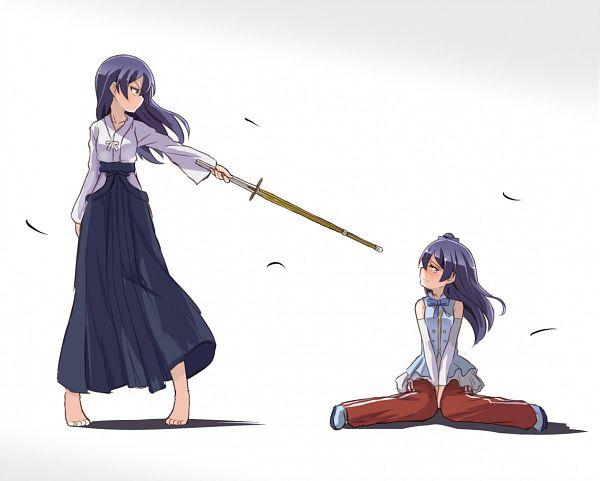 Tags: Anime, Sikei, Love Live!, Sonoda Umi, Shinai, Kendo Outfit, PNG Conversion, Start:Dash!!, Umi Sonoda