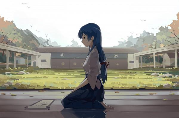Tags: Anime, Huanxiang Heitu, Love Live!, Sonoda Umi, Japanese House, Umi Sonoda