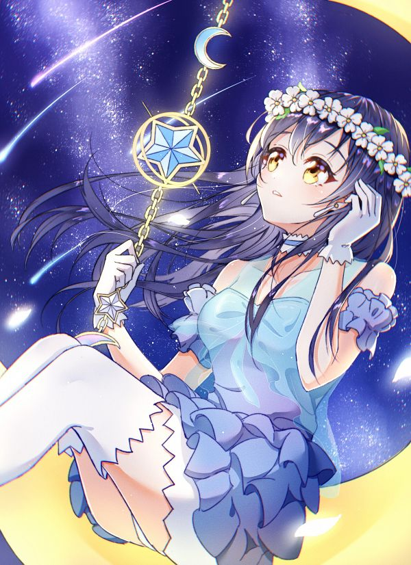 Tags: Anime, Pixiv Id 13061541, Love Live!, Sonoda Umi, Pixiv, Yume no Tobira, Fanart, Fanart From Pixiv, Umi Sonoda