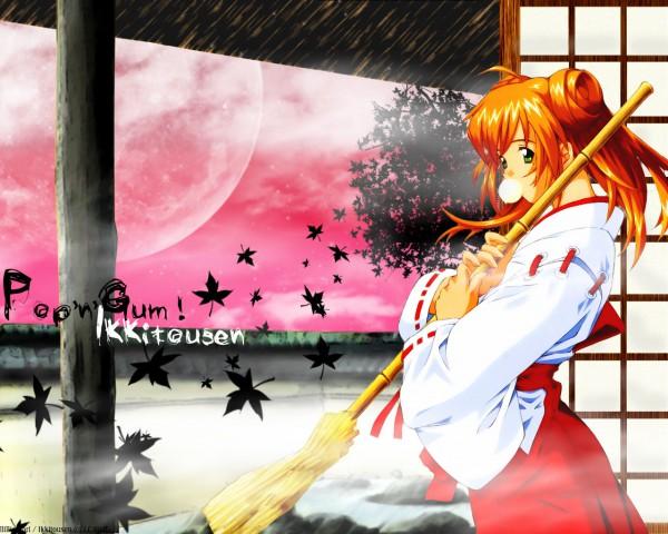 Tags: Anime, Ikkitousen, Sonsaku Hakufu, Wallpaper, Fanmade Wallpaper