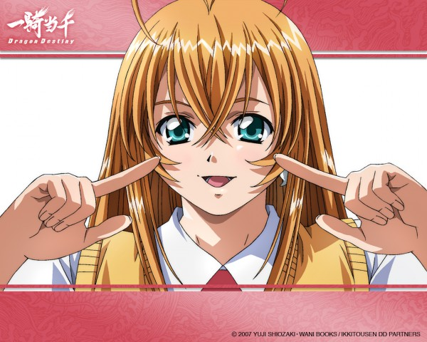 Tags: Anime, Ikkitousen, Sonsaku Hakufu, Wallpaper