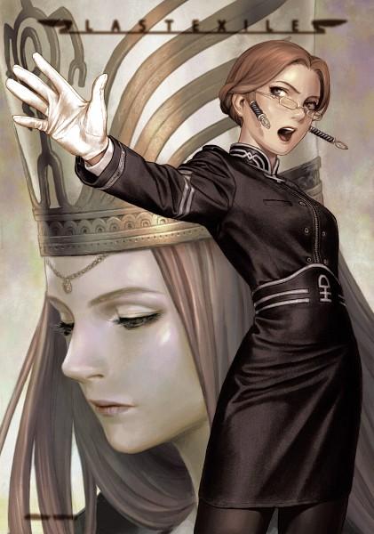 Tags: Anime, Range Murata, Last Exile, Sophia Forrester, Mobile Wallpaper