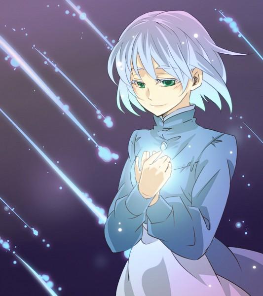 Tags: Anime, Feeline Isi, Studio Ghibli, Howl no Ugoku Shiro, Sophie Hatter, Fanart, Pixiv