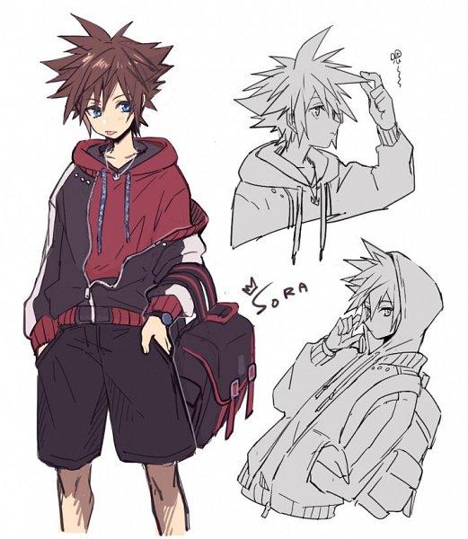 Tags: Anime, CHI-11, Kingdom Hearts III, Kingdom Hearts, Sora (Kingdom Hearts)