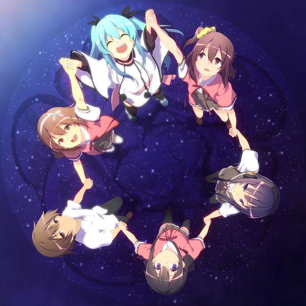 Tags: Anime, Pixiv Id 2972000, Sora no Method, Togawa Shione, Shinohara Koharu, Mizusaka Yuzuki, Mizusaka Souta, Komiya Nonoka, Noel (Sora no Method), Celestial Method