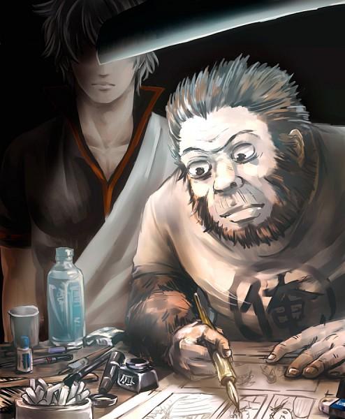 Sorachi Hideaki (Gorilla) - Gintama
