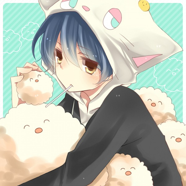 Tags: Anime, Monchi, Soraru, Nico Nico Singer, Pixiv, PNG Conversion