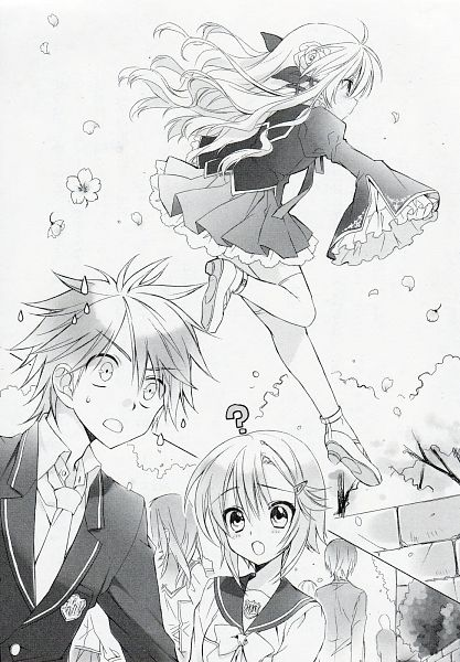 Tags: Anime, Sakura Neko, Sore ga Ruuru no Irregular, Novel Illustration, Official Art, Character Request, Scan
