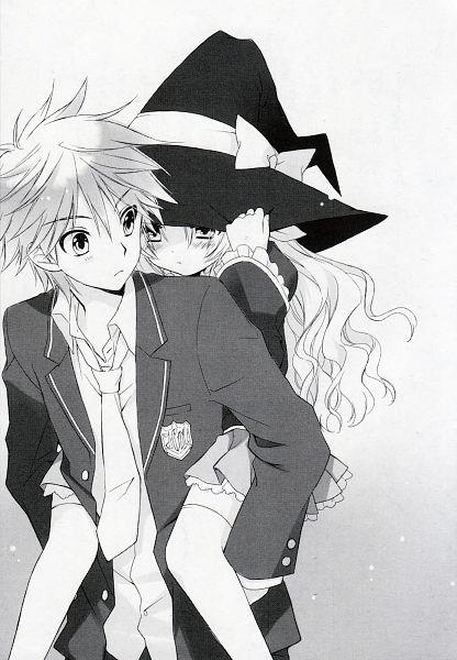 Tags: Anime, Sakura Neko, Sore ga Ruuru no Irregular, Minato Ruuru, Inukai Tamaki, Scan, Novel Illustration, Official Art