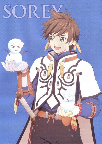 Tags: Anime, ufotable, Namco, Tales of Zestiria, Sorey (Tales of Zestiria), Scan, Official Art, Mobile Wallpaper