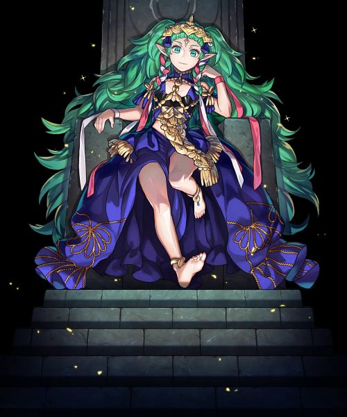 Tags: Anime, Maiponpon, Intelligent Systems, Fire Emblem Heroes, Sothis (Fire Emblem), Official Art