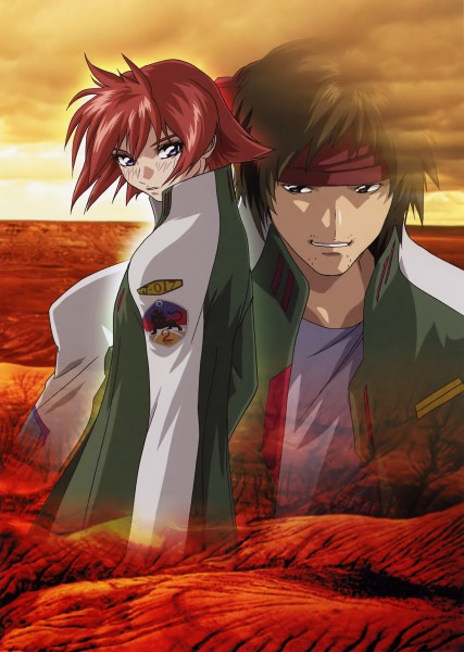 Tags: Anime, Hirai Hisashi, Soukyuu no Fafner, Kanon Memphis, Hino Michio, Fafner Of The Blue Sky