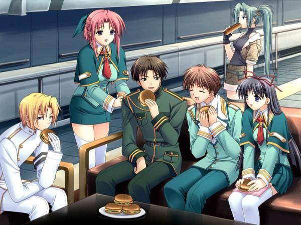 Tags: Anime, Suzuhira Hiro, Navel (Studio), Soul Link, Yamanami Yu, Nagase Sayaka, Nitta Kazuhiko, Morisaki Nao, Aizawa Shuuhei, Aizawa Ryota