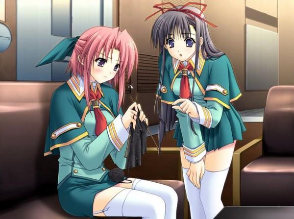 Tags: Anime, Suzuhira Hiro, Navel (Studio), Soul Link, Nagase Sayaka, Morisaki Nao