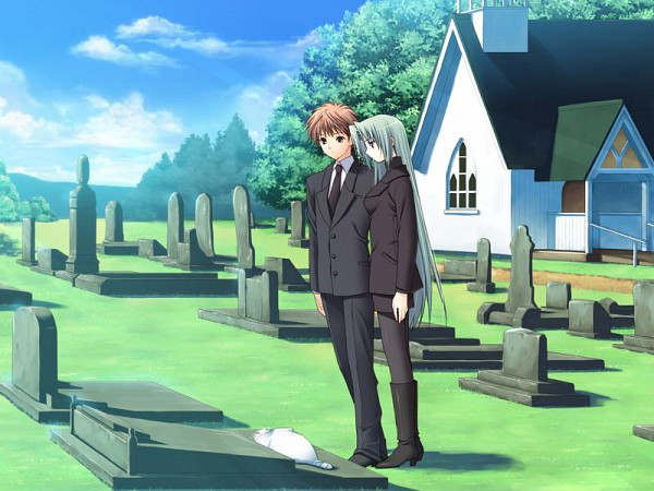 Tags: Anime, Suzuhira Hiro, Navel (Studio), Soul Link, Aizawa Ryota, Yamanami Yu, Graveyard