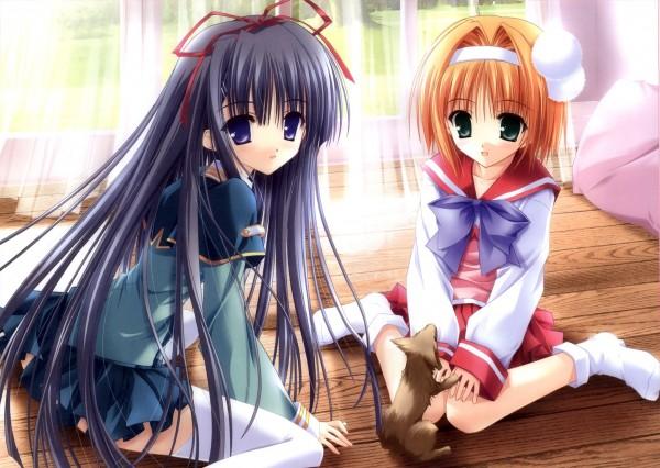 Tags: Anime, Suzuhira Hiro, Tinkerbell, Navel (Studio), Tsukiyono Chakai, Soul Link, Inatsuki Nanami, Nagase Sayaka