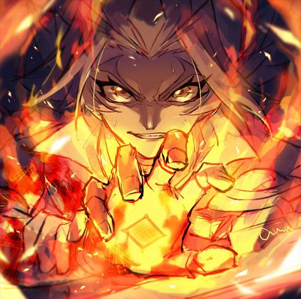 Tags: Anime, Pixiv Id 2211140, Yu-Gi-Oh! VRAINS, Yu-Gi-Oh!, Soulburner, Homura Takeru, Eyerbrow, Twitter, Sketch, Fanart