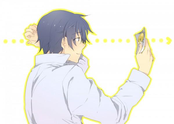 Tags: Anime, Mochi Fuji, Working!!, Satou Jun, Souma Hiroomi, Pixiv