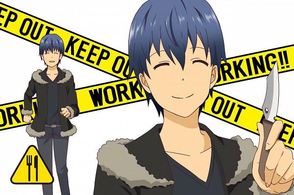 Tags: Anime, Yun (Kinumi0411), Working!!, Souma Hiroomi, Orihara Izaya (Cosplay), Pixiv, Fanart