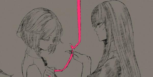 Tags: Anime, Akane (pixiv266832), Lost-ko, Thanatos-ko, Fanart, Thanatos (Sound Horizon) (Story Cd), Facebook Cover, Lost (Sound Horizon), Pixiv, Fanart From Pixiv, Sound Horizon