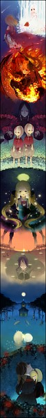Tags: Anime, Pixiv Id 548943, Mu (Sound Horizon), Märchen von Friedhof, Stella (Sound Horizon), Artemisia (Sound Horizon), März von Ludowing, Dornröschen (Sound Horizon), Elisabeth von Wettin, Nonne, Hiver Laurant, Elefseus, Thanatos (Sound Horizon)