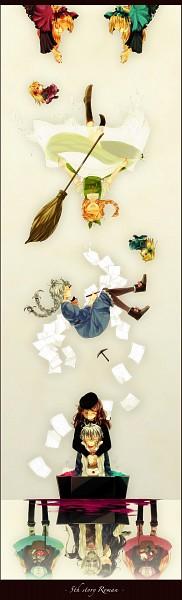 Tags: Anime, Kroguro321, Noel Laurant, Idoko, Hiver Laurant, Maman (Sound Horizon), Violette, Michèle Malebranche, Hortense, Flying Paper, Roman (Sound Horizon), Märchen, Sound Horizon