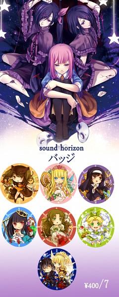 Tags: Anime, Kingchenxi, Buran-ko, Elisabeth von Wettin, Phi (Sound Horizon), Elise (Sound Horizon), Dornröschen (Sound Horizon), Mu (Sound Horizon), Nonne, Thanatos-ko, Aohigeko, Schneewittchen, Märchen von Friedhof