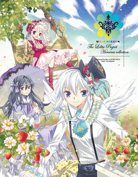 Tags: Anime, Ron (Lovechro), Rukia (Sound Horizon), Elice, Rein (Sound Horizon), Garden, Swing, Elysion (Sound Horizon), Chronicle 2nd, Pico Magic Reloaded, Sound Horizon