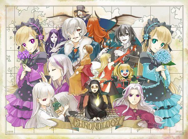 Tags: Anime, Cherico, Hiver Laurant, Savant, Stella (Sound Horizon), Thanatos (Sound Horizon), Elice, Violette, Elefseus, Maman (Sound Horizon), Hortense, Layla (Sound Horizon), Abyss (Sound Horizon)